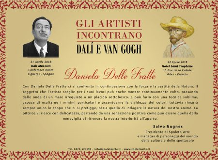 """Dichiarazione critica per la mostra """"Gli artisti incontrano Dalí e Van Gogh"""""""