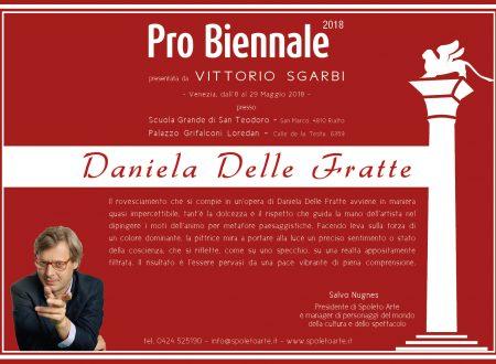 Dichiarazione critica per la mostra Pro Biennale