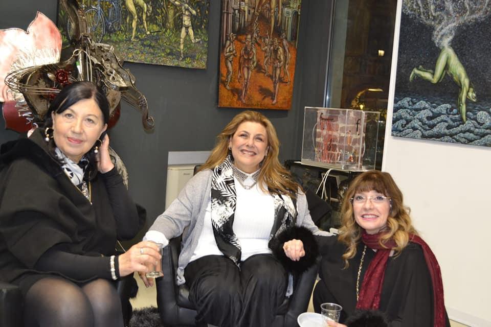 """""""Quelli che a Boston..."""" l'artista DiDiF e la curatrice Maria Grazia Todaro"""