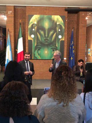 vernissage istituto italiano in guatemala